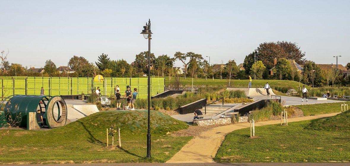 Berewood Skate Park Town Park Waterlooville