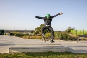 Skateboard Coaching at Town Park