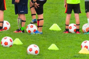 Easter Football Coaching at Town Park